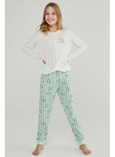 Penti Teen Poddle 2Li Pijama Takımı Renkli